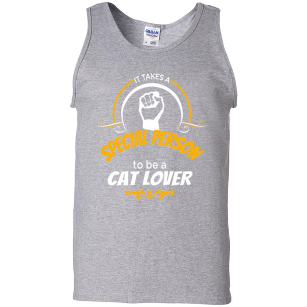 sport grey Tank Top It Takes A Special Person To Be A Cat Lover