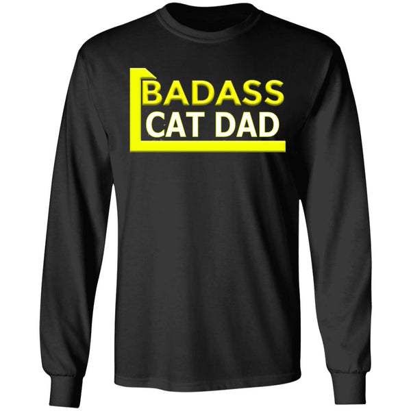 Cat Dad T-Shirt - Badass Cat Dad Gift