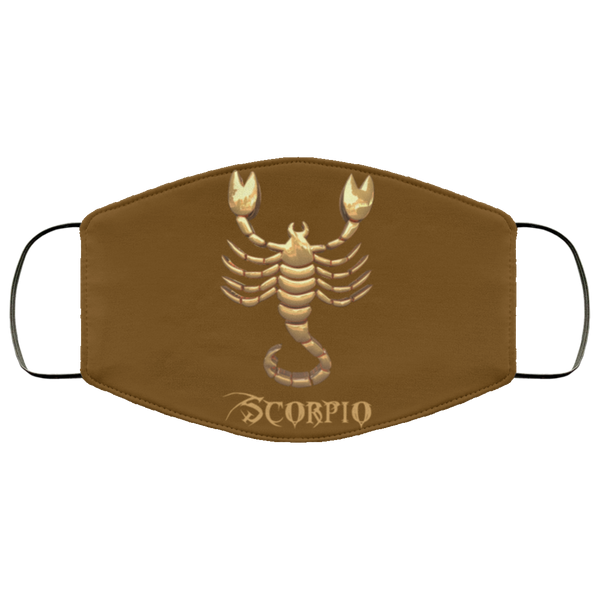 Scorpio Face Mask brown