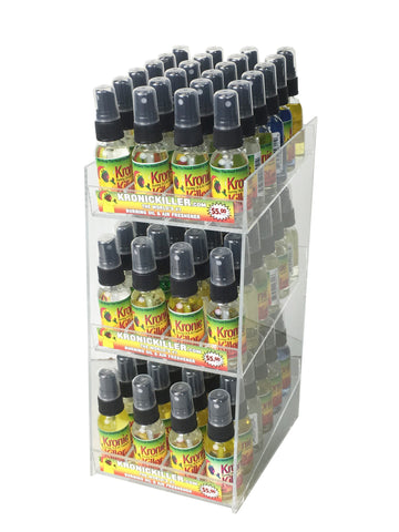 Air Freshener 72 Count Display (For 1 oz. Flints Only) (Acrylic)