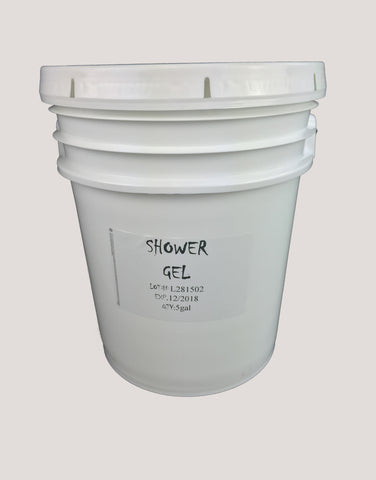 Unscented Bath & Shower Gel - (5 Gallons)