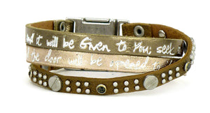 GOOD WORKS BRACELET - TRIO MINERAL SCRIPTURE