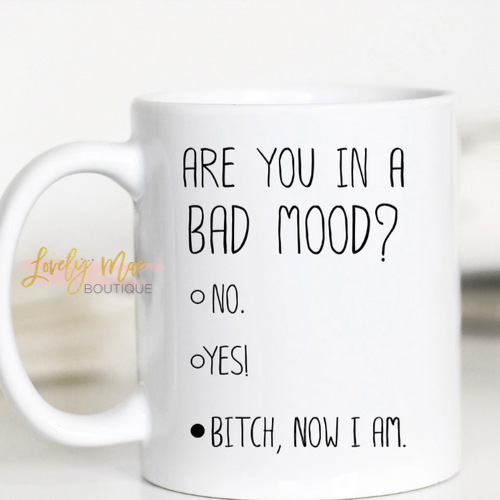 Bad Mood Coffee Mug