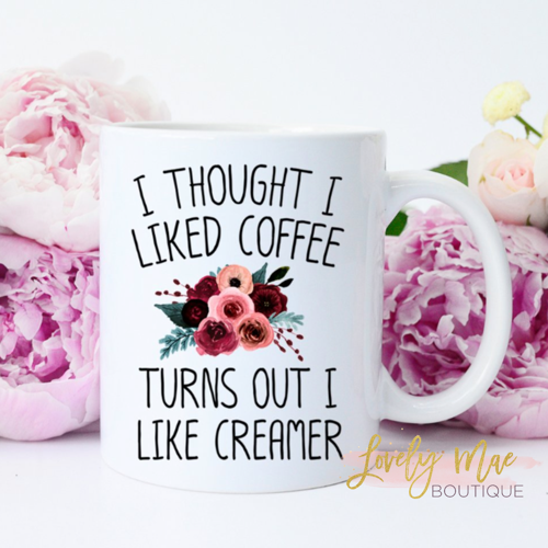 I Thought I Liked Coffee, Mug