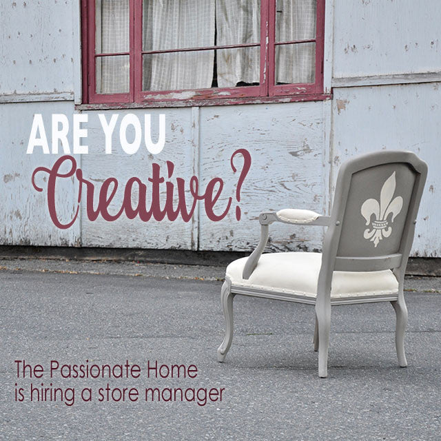 The Passionate Home is Hiring!