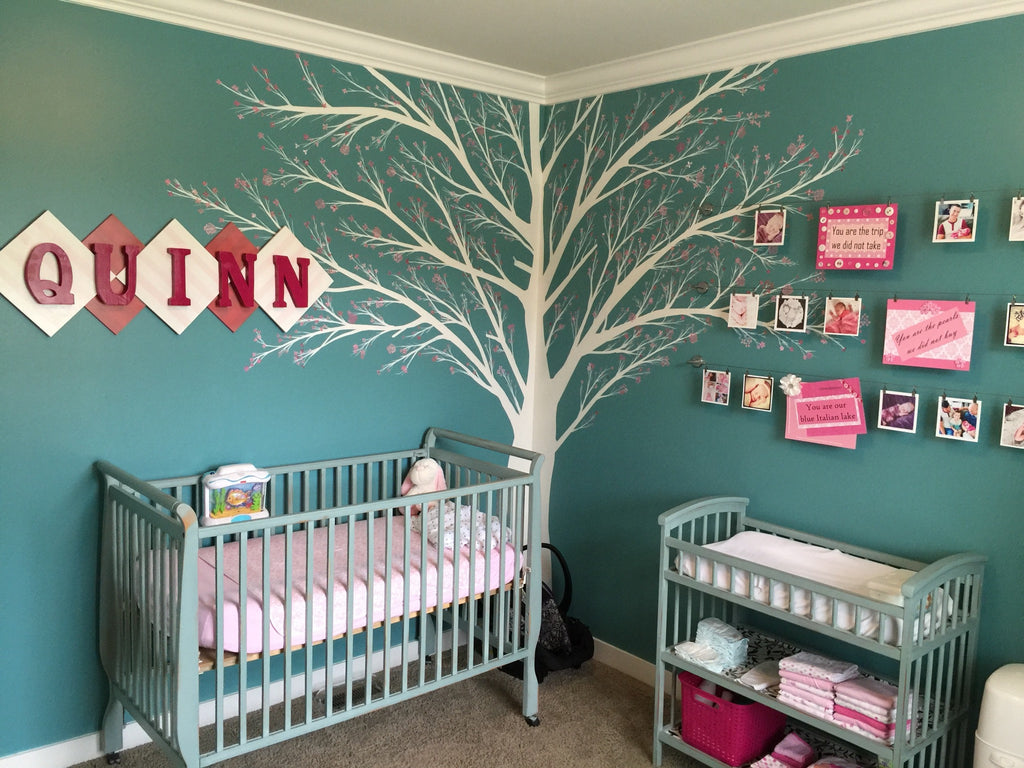 Decorating A Nursery Using Annie Sloan's Chalk Paint™