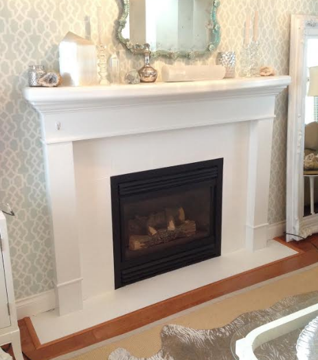 Transforming A Fireplace With Annie Sloan S Chalk Paint