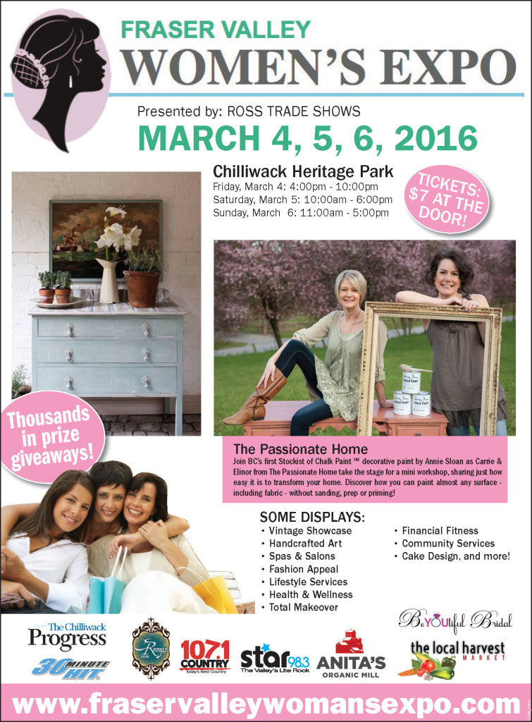 Enter to win tickets to the Fraser Valley Women's Expo