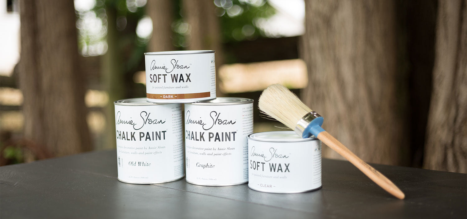 Annie Sloan Chalk Paint Provider -The Passionate Home