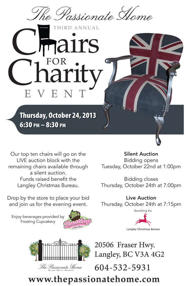 chairs for charity