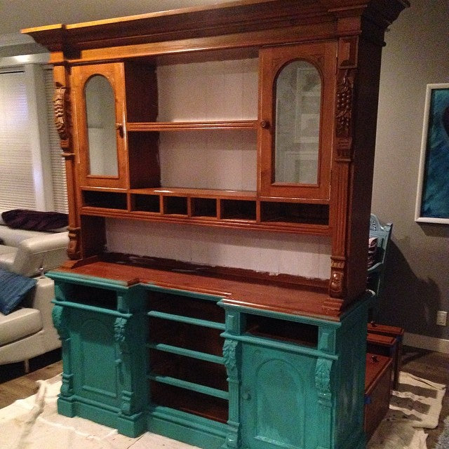 buffet and hutch chalk paint florence