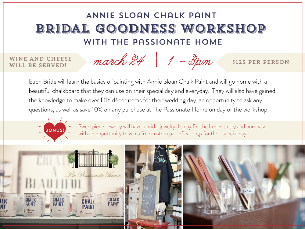 Bridal Goodness Workshop