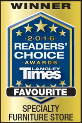 Langley Times Readers' Choice Specialty Furniture Store