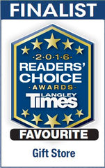 Langley Times Readers' Choice Award Gift Store