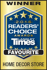 Langley Times Readers' Choice Award Home Decor