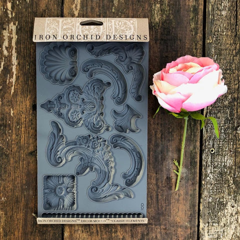 IOD Classic Elements Decor Mould by Iron Orchid Designs