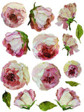 """Painterly Florals"" IOD Transfer -Iron Orchid Designs"