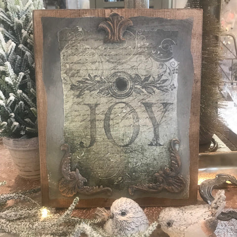 JOY Plaque