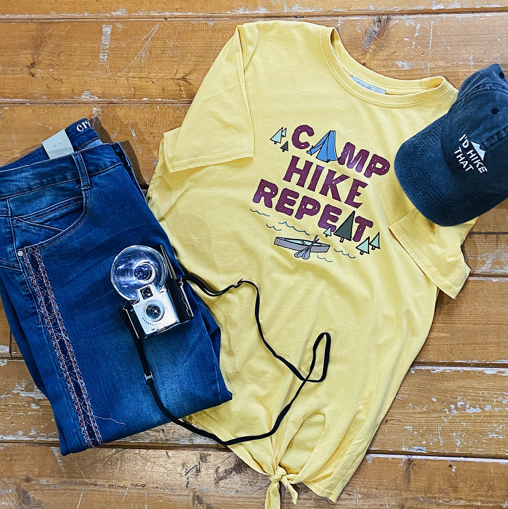 Graphic Tee | Camp Hike Repeat