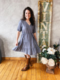 Layla Dress | Grey