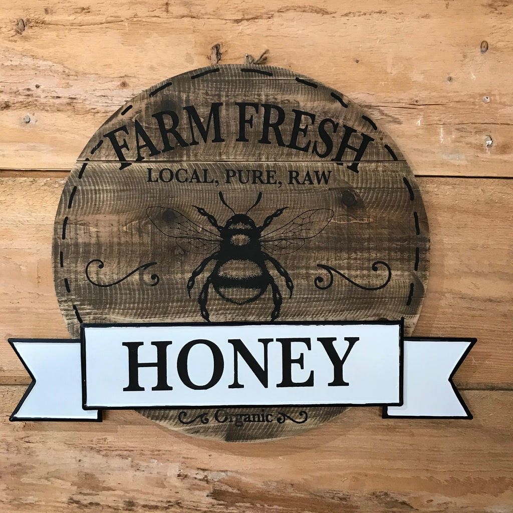 Honey Bee Sign - SOLD