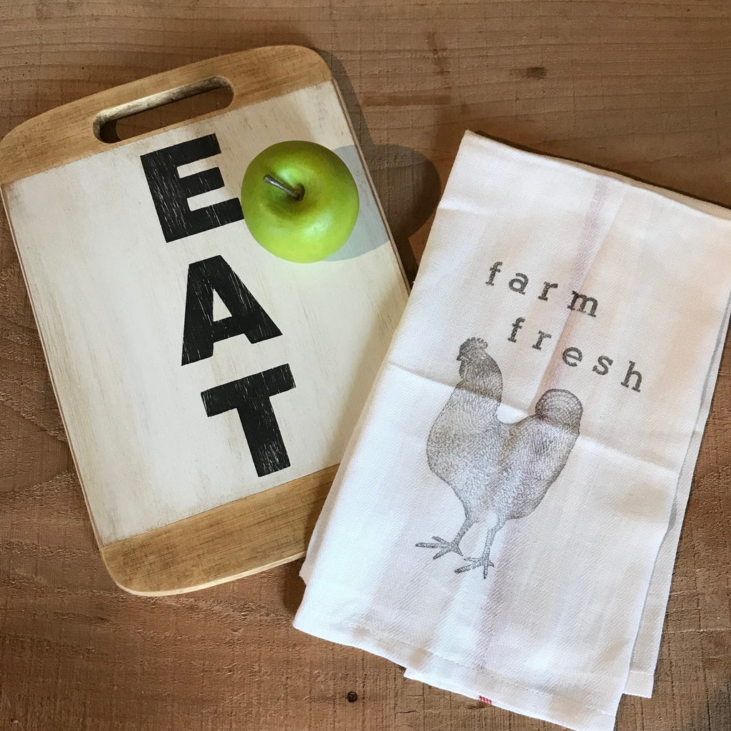 Tea Towel and Cutting Board Workshop