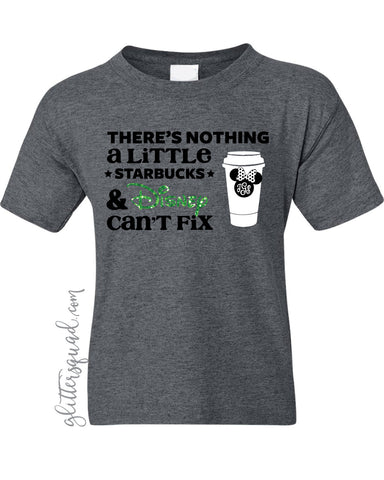 Disney and Starbucks fix -TShirt