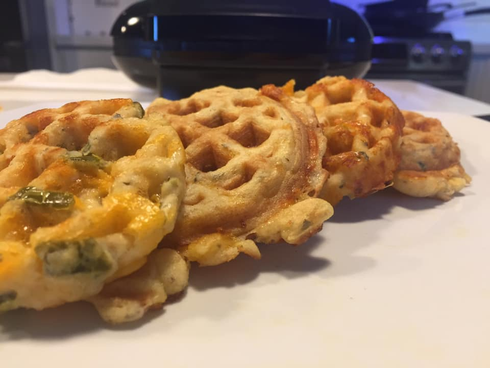KETO Chaffle Recipes for The Burgess Brothers ChurWaffle Maker