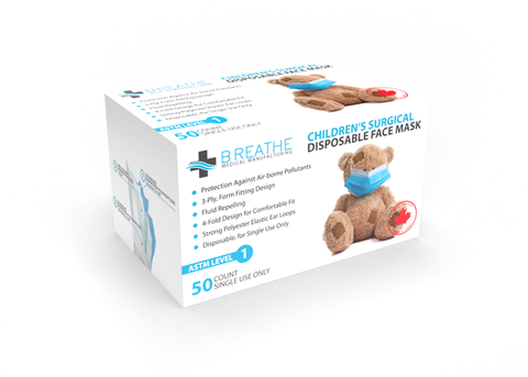 CHILDREN'S BREATHE  LEVEL 2 SURGICAL _(Standard Pricing)