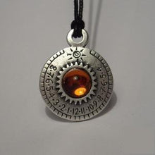 "Crystal Sundial Necklace - Ra Series - ""Aten"""