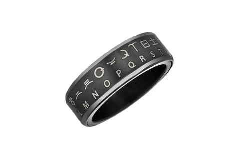 Star Wars Huttese Translator Ring (Black)