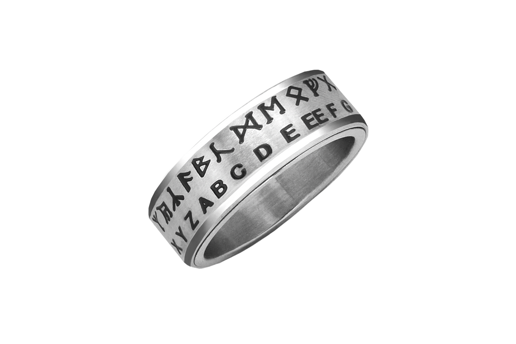 Hobbit Translator Ring (FUTHARK Rune Translator)