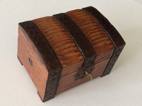 Small Treasure Box with Key