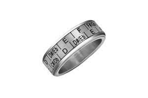 Musicians Ring - Musicians Transposition/Circle of Fifths Spinner Ring