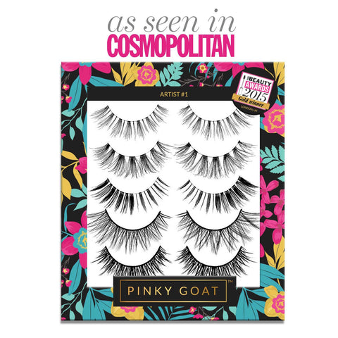 Pinky Goat Lashes - Artist 1 Lash Pack