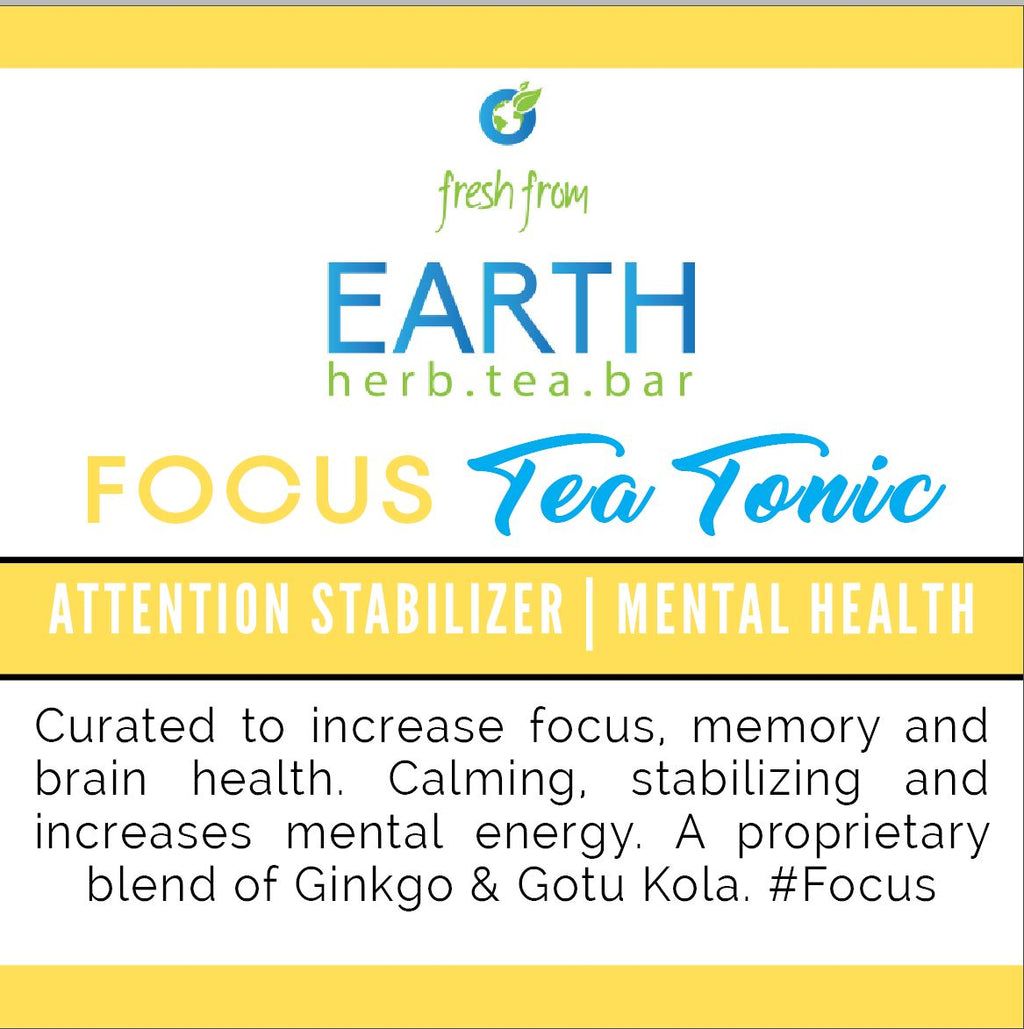 Focus Tea Tonic