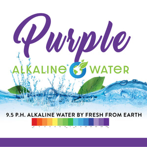 PURPLE Alkaline Water by Fresh From Earth