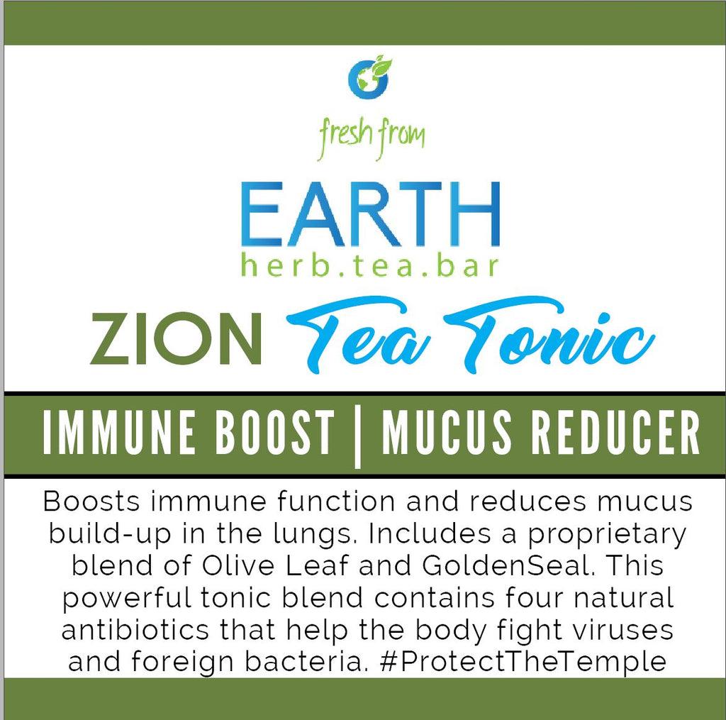 Zion Tea Tonic