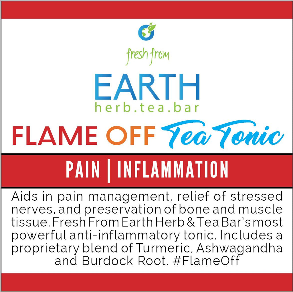 Flame OFF Tea Tonic
