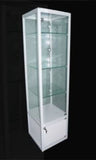 Display Cabinet Glass 400w 400d 1800h
