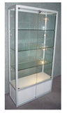 Display Cabinet Glass 800w 400d 1800h