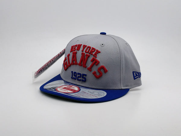 NEW ERA ARCH DATE INTERCHANGEABLE SNAP NEW YORK GIANTS TEAM