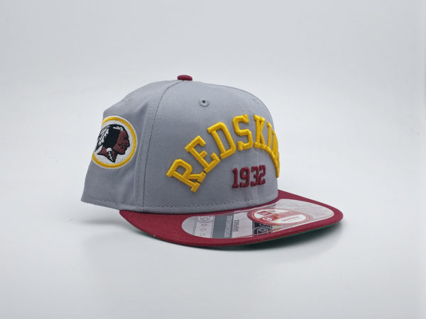 NEW ERA ARCH DATE INTERCHANGEABLE SNAP WASHINGTON REDSKINS TEAM