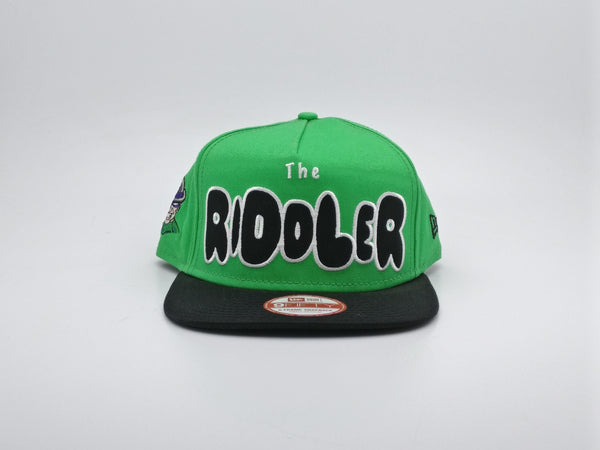 NEW ERA 9FIFTY SNAPBACK CHARACTER BUBBLE TEAM THE RIDDLER