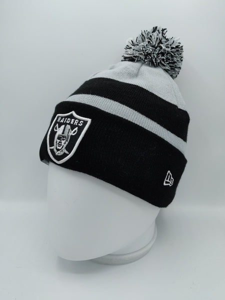 NEW ERA NFL SPORT KNIT RAIDERS TEAM