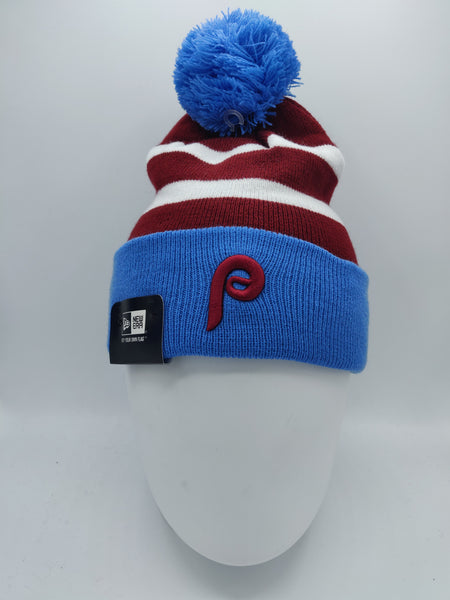 NEW ERA STRIPE CUFF BOBBLE PHILADELPHIA PHILLIES TEAM