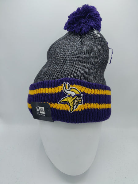 NEW ERA EMEA CHUNKER KNIT MINNESOTA VIKINGS GRAPHITE/TEAM