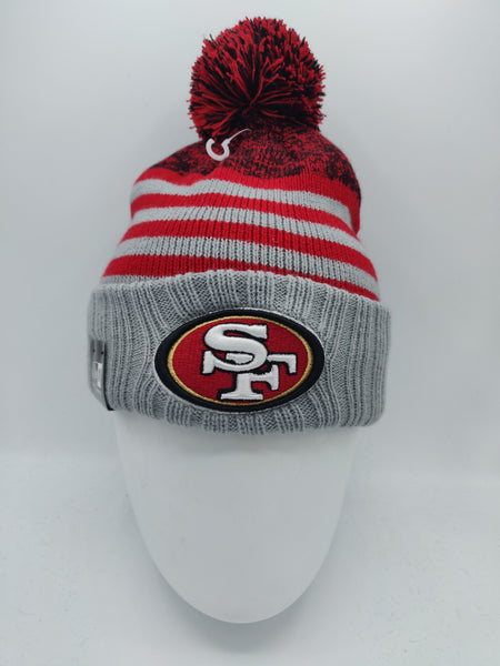 NEW ERA SNOWFALL STRIPE SAN FRANCISCO 49ERS GREY/TEAM