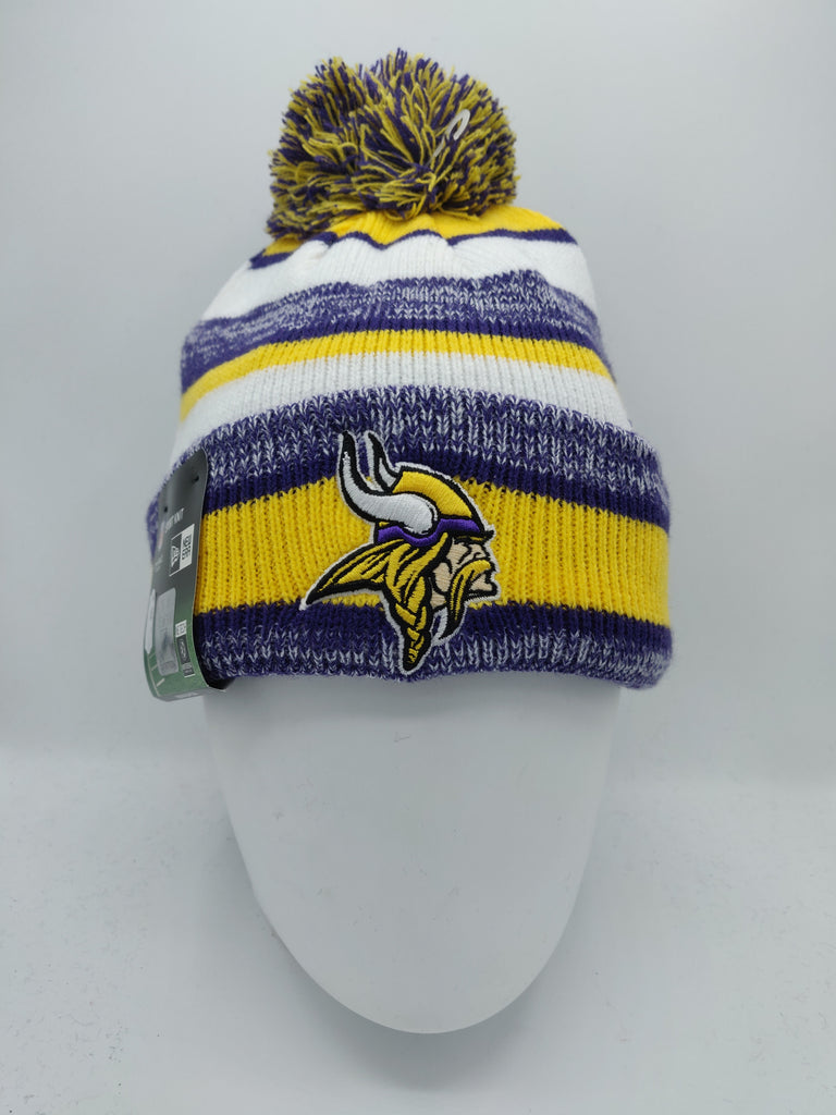 cb1fb235 NEW ERA NFL ON FIELD SPORT KNIT MINNESOTA VIKINGS GAME