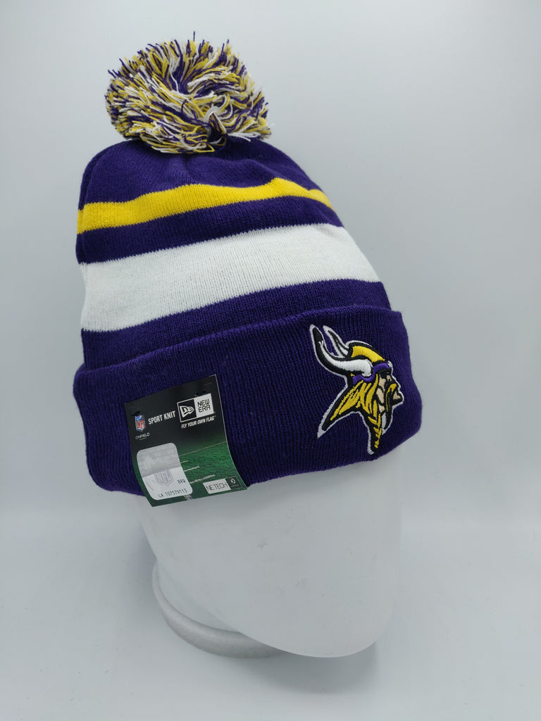 6a8b3cae NEW ERA NFL SPORT KNIT MINNESOTA VIKINGS TEAM